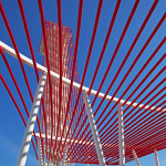 The veil is made from a series of 8-inch steel pipes. (Ted Parker, Jr./Circuit of the Americas)