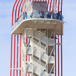 Structural engineer Waggoner said the tower is unique for its modularity and integrated stair and tower components. (Michael Hsu/Miró Rivera Architects)