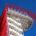 All joints and welding points were defined in Tekla Structures. (Michael Hsu/Miró Rivera Architects)