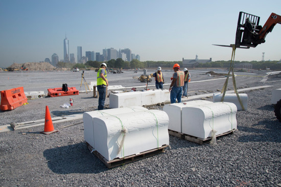 Some custom pieces weigh as much as an SUV. (Timothy Schenck/courtesy The Trust for Governors Island)