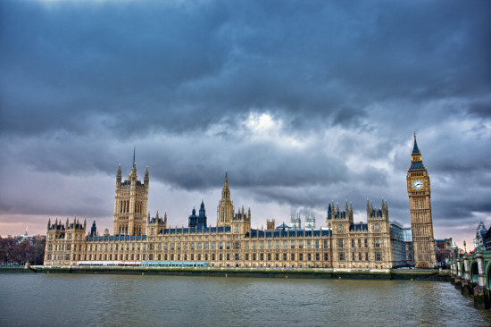 Palace of Westminister, courtesy Jeremy McKnight, Flickr