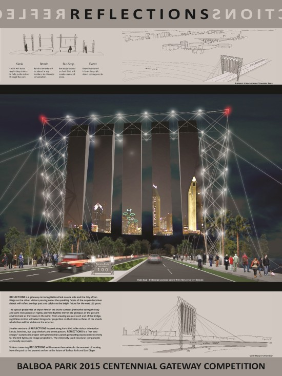 """JEFFREY TAITANO'S """"REFLECTIONS"""" WON THE COMPETITION'S PEOPLE'S CHOICE AWARD (AIA SAN DIEGO)"""