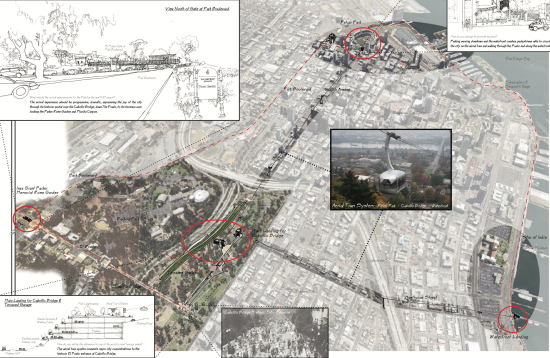 """""""TRAMWAY,"""" BY PLACE ARCHITECTURE, WAS ONE OF TWO MERIT AWARD-WINNING DESIGNS FOCUSED ON TRANSIT"""