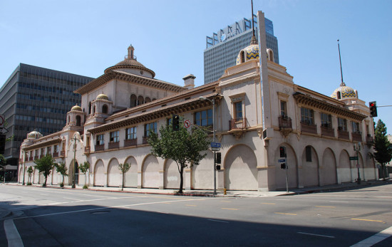 Julia Morgan's Herald Examiner Building in Downtown Los Angeles. (Floyd B. Bariscale)