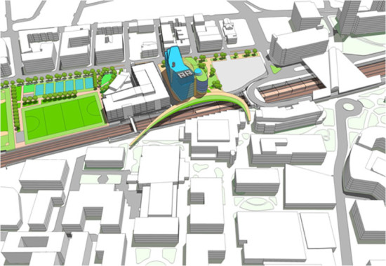 Phase 1 of Northeastern's expansion