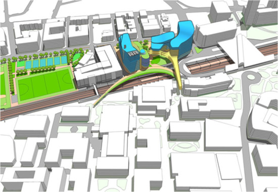 Phase two of Northeastern's expansion (Courtesy of Payette)