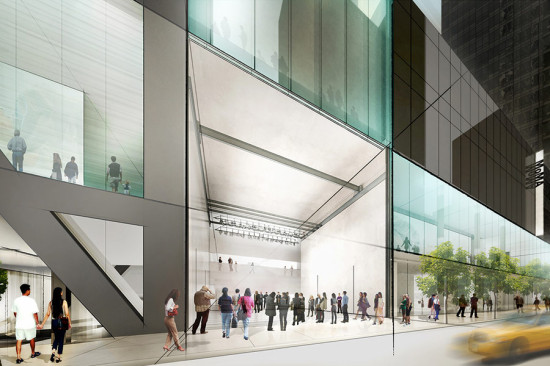 Conceptual sketch of DS+R's plans for MoMA. (Courtesy DS+R)