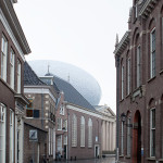 The unique design represents a progressive aesthetic in the old city. (Joep Jacobs)