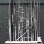 The model of Sou Fujimimoto's bus stop (Courtesy kulturkrumbach)