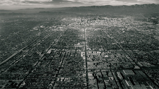 Aerial view of Los Angeles. (Onny Carr / Flickr)