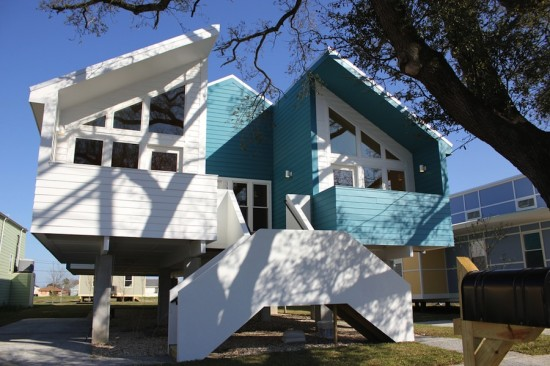 Atelier Hitoshi Abe's New Orleans House built by the foundation. (Courtesy Make it Right)