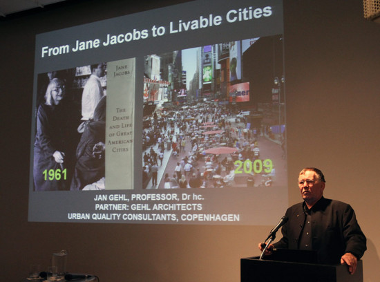 Jan Gehl. (Courtesy Center for Architecture)