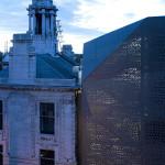 The skin creates a new background for the Edwardian facade, said Rozencwajg. (Edmund Sumner)
