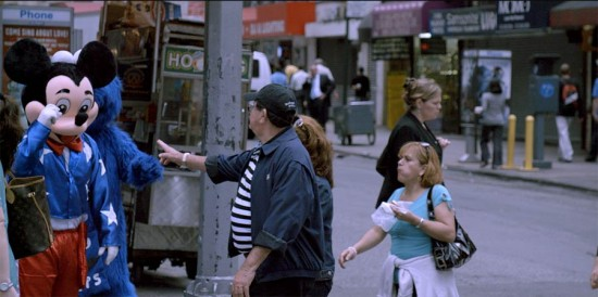 Still from The Street. (James Nares)
