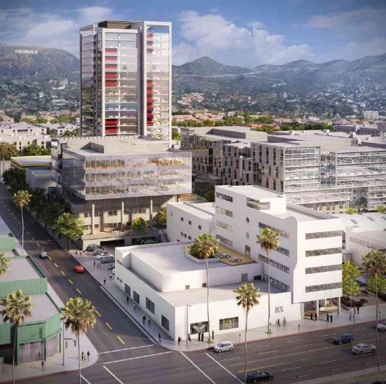 Rios Clementi Hale's Columbia Square, one of several new Hollywood developments.