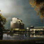 Harry Gugger Studio and Barcode Architect's proposal (Courtesy Harry Gugger Studio & Barcode Architects)