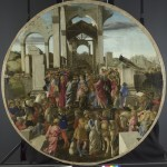 Sandro Botticelli about 1445 - 1510, The Adoration of the Kings, about 1470-5. (Courtesy National Gallery, London)