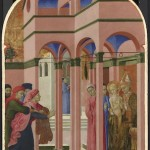 Sassetta active by 1427; died 1450, Saint Francis renounces his Earthly Father, 1437-44. (Courtesy National Gallery, London)