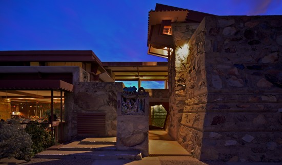 THE RESTORATION OF TALIESIN WEST WILL BEGIN WITH A YEAR-LONG STUDY OF THE SITE (FRANK LLOYD WRIGHT FOUNDATION, PHOTO BY ANDREW PIELAGE)
