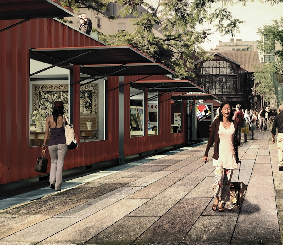 Market in Training Proposal Would Transform Paris