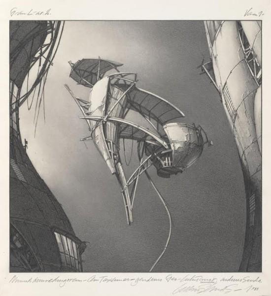 Photon Kite. (Copyright Estate of Lebbeus Woods)