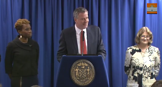 De Blasio Announces Housing Team