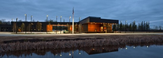 The U.S. point of entry in Warroad, Minnesota (Paul Crosby)