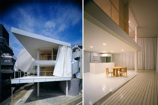 Curtain Wall House. (Hiroyuki Hirai)