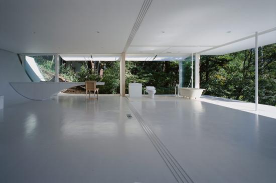 Wall-Less House. (Hiroyuki Hirai)