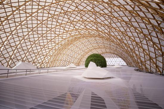 Hanover Expo Japan Pavilion. (Hiroyuki Hirai)