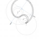 Designers used AutoCad software to map the structure's complex curves. (Courtesy NEXT architects)