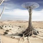 Sand Babel: Solar-Powered 3D Printed Tower by Qiu Song, Kang Pengfei, Bai Ying, Ren Nuoya, Guo Shen