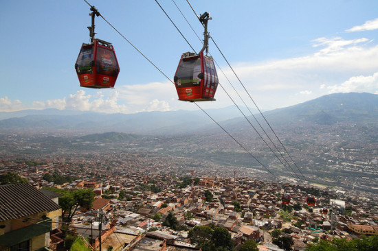 Medellin, Columbia's urban gondola (Columbia Travel)