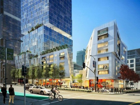 Unofficial rendering of OMA/Fougeron project (San Francisco Chronicle)