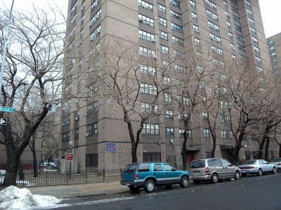 New York City Housing Authority buildings. (Courtesy Wikimedia Commons)