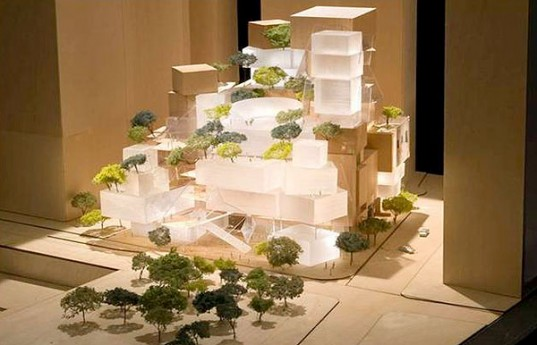 Gehry's Plan for the Performing Arts Center. (Courtesy Gehry Parners)