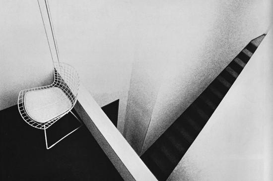 Shinohara Kazuo, Interior, Repeating Crevice, Ōta Ward, Tokyo, 1969‐71. (Taki Kōji,  / Courtesy Tokyo Institute of Technology)