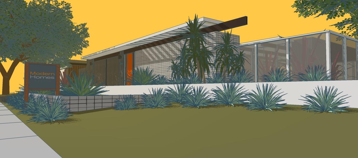 Joseph Eichler\'s Mid-Century Homes Reborn in Palm Springs ...