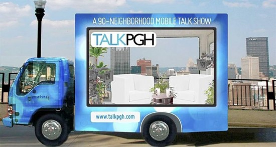 The TalkPGH Mobile. (Courtesy PlanPGH)