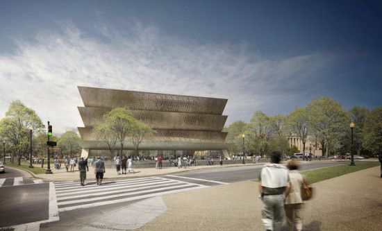 The Smithsonian National Museum of African American History and Culture (Freelon Adjaye BondSmithGroup, Imaging Atelier)