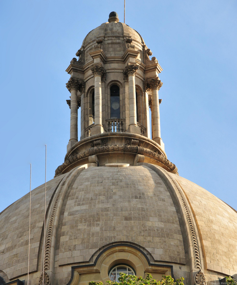 Boston valley brings a 100 year old dome into the digital for Boston valley terra cotta