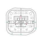 Apartment floor plan (Courtesy Maison Edouard François)
