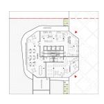 Office floor plan (Courtesy Maison Edouard François)