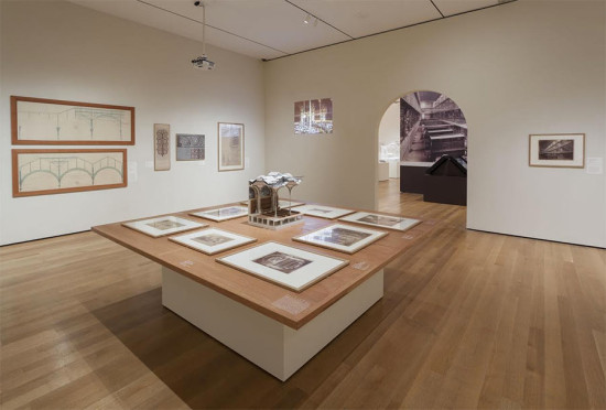 Installation view of MoMA's 2013 exhibition Henri Labrouste: Structure Brought To Light. (Jonathan Muzikar / Courtesy MoMA)