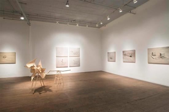 Exhibition view. (Courtesy Ronald Feldman Fine Arts)