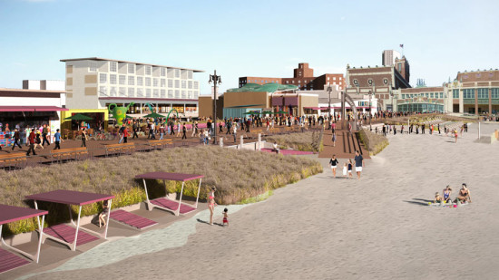The plan for Asbury Park. (Courtesy HR&A/Cooper Robertson)