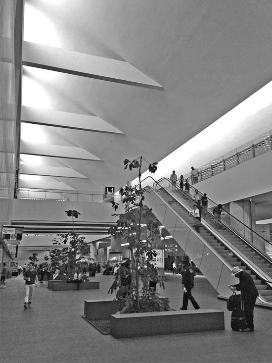 Another interior view of the existing terminal. (Branden Klayko / AN)
