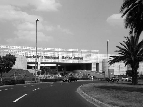The airport exterior. (Branden Klayko / AN)