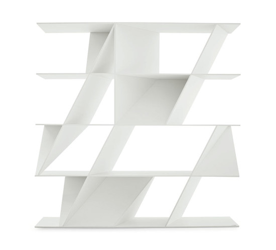 Web Bookcase by Daniel Libeskind. (Courtesy Poliform)