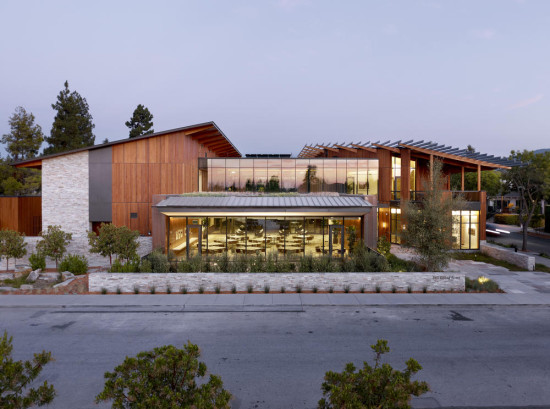 The David and Lucile Packard Foundation Headquarters. (Jeremy Bittermann / Courtesy AIA)